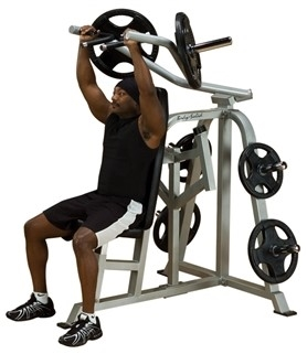 Body-Solid Leverage Shoulder Press Image