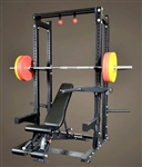 Body-Solid ProClub Line Commercial Extended Half Rack Package Image
