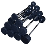 Body Solid SBB Fixed Weight Barbell Set Image