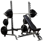 Body-Solid Bench Rack Combo Image