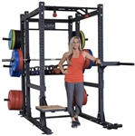 Body-Solid SPR1000BackP4 Extended Power Rack Package (New) Image