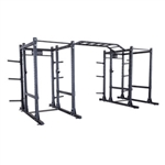 Body-Solid SPR1000DBBack Extended Double Power Rack Package (New) Image