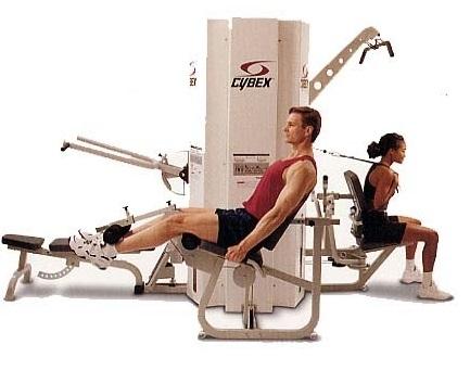 Cybex Mg 500 3 Stack Multi Station Gym Fitness