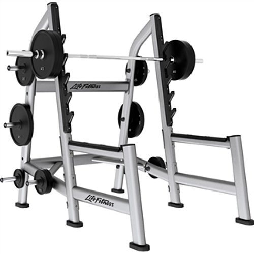 Life Fitness Signature Olympic Squat Rack | Fitness Superstore