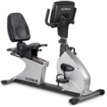 True Fitness CS800 Recumbent Bike w/ 2-Window LCD Image