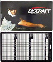 Discraft Reusable Scorecard
