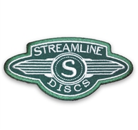 Streamline Discs Patch