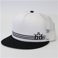Dynamic Discs Triple Stripe Snapback Flat Bill Adjustable Hat