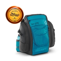 Discraft Valarie Jenkins Signature Disc Golf Backpack w Bonus Disc