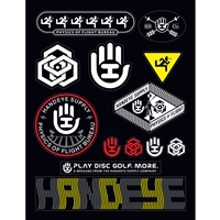 Handeye Supply Co Sticker Sheet