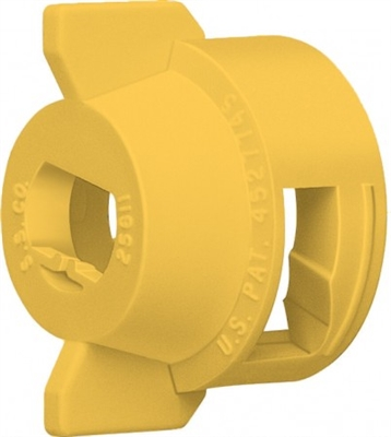 114441A-6-CELR Teejet Yellow Quick Cap and Gasket