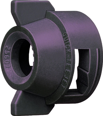 114445A-1-CELR Teejet Black Cap and Gasket (Round Hole)