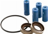 3430-0390 Hypro Super Roller Repair Kit for Hypro 4000 Series 4-Roller Pump, Includes 4 Super Rollers, 1 O-Ring Gasket and 2 Viton Seals