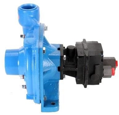 "9303C-HM4C Hypro Cast Iron Hydraulic Motor-Driven Pump with 1-1/2"" NPT Inlet x 1-1/4"" NPT Outlet"