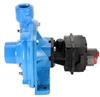 "9303C-HM5C Hypro Cast Iron Hydraulic Motor-Driven Pump with 1-1/2"" NPT Inlet x 1-1/4"" NPT Outlet"