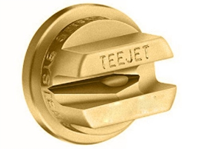 OC-12 Teejet Brass Off-Center Flat Spray Tips- Smaller Capacities