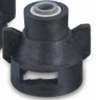 "QJ98588-1/4 TeeJet Push to Connect With Gasket (1/4"" Tubing)"