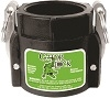 "SAF200D TerreMax Safety Camlock 2"" Female Coupler x 2"" Female NPT"