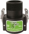 "SAF300B TerreMax Safety Camlock 3"" Female Coupler x 3"" Male NPT"