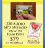 Heaven Sent Messages - MP3 Flash Drive