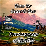 How to Guard the Preciousness of Unity