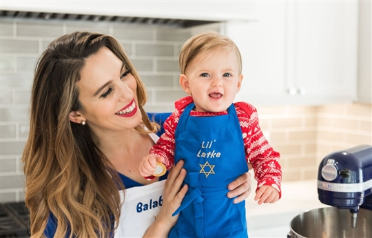 Christy Carlson Romano's Yummy Collection - Kid's Hanukkah Apron