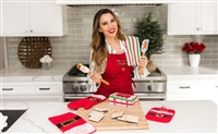 Christy Carlson Romano's Yummy Collection - Adult Christmas Apron