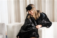 Erin Lim's Girl's Night Collection featuring faux Throws. Benefiting Freedom & Fashion