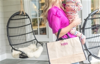 Molly Sims collaboration with Rachel Miriam featuring the Sparkle Collection Bow Tote