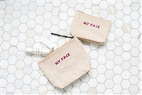 Molly Sims collaboration with Rachel Miriam featuring the Sparkle Party Cosmetic Bags
