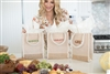 Molly Sims collaboration with Rachel Miriam featuring the Sparkle Party Mini Tote