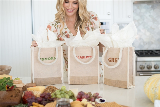 Molly Sims collaboration with Rachel Miriam featuring the Sparkle Collection Mini Tote