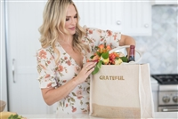 Molly Sims collaboration with Rachel Miriam featuring the Sparkle Party Tote Bag