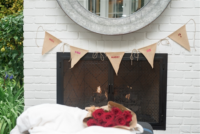 Molly Sims collaboration with Rachel Miriam featuring the Sweetheart Collection Party Banner