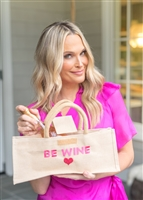 Molly Sims collaboration with Rachel Miriam featuring the Sweetheart Collection Wine Tote
