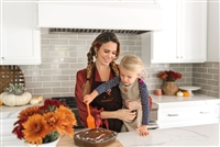Christy Carlson Romano's Yummy Collection - Thanksgiving Apron & Chef Hat Set
