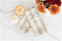 Christy Carlson Romano's Yummy Collection - Thanksgiving Kitchen Towels - Set of 2