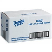 Domino Sugar Packets 2,000pk