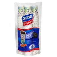 Dixie PerfecTouch Paper Cups 12oz, 160pk