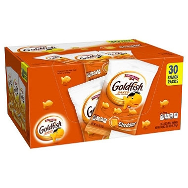 Goldfish Pepperidge Farm Cheddar, 1.5oz, 30 pks