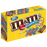 M&M Variety  Bags Full Size Packs (30 ct.)