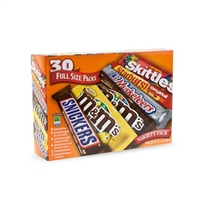 M&M's, Snickers Skittles 52 ct