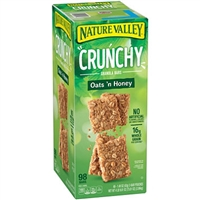 Crunchy Granola Bars Oats & Honey