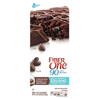 Fiber One 90 Calorie Fudge Brownies