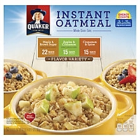Quaker Instant Oatmeal Variety