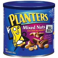 Planters Mixed Nuts with Seasalt 56oz