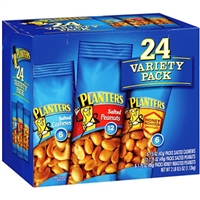 Planters Nut Variety Packs 24ct