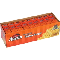 Cheese and Peanut Butter Crackers 45 ct