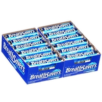 Breath Savers Peppermints, 12 piece/roll, 24 ct