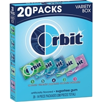 Orbit Variety Pack 14pieces/pk Sugar Free